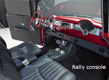 55 chevy rally/spacer console