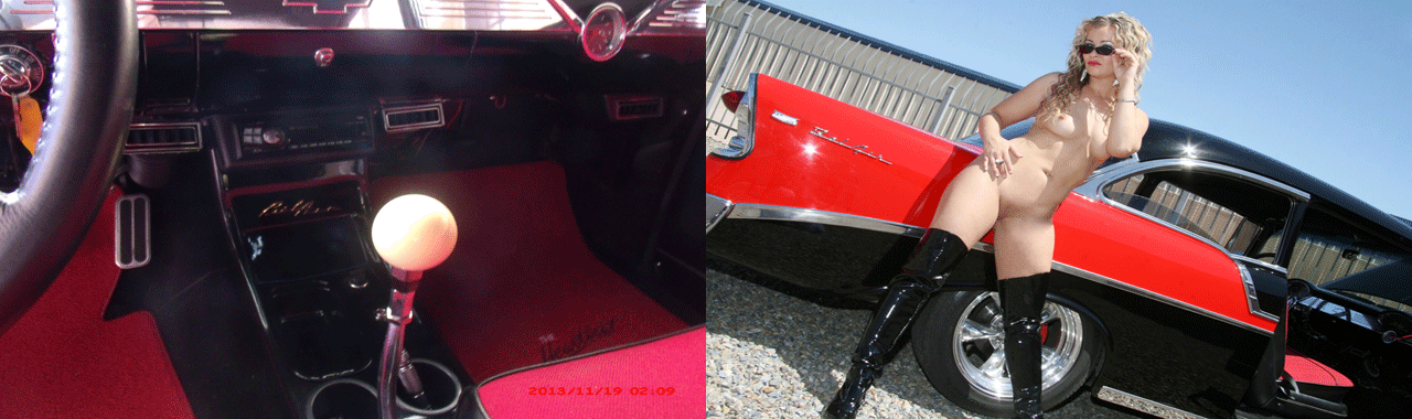 56 Chevy Center Console