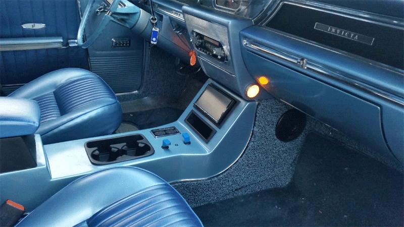 Buick center console skylark riviera wildcat bench