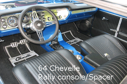 64 chevelle cup holder console