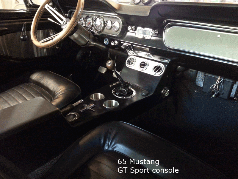 67 Mustang Console ~ Mustang center console gt shelby