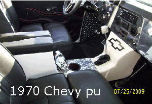 70 chevy c 10 modern center console