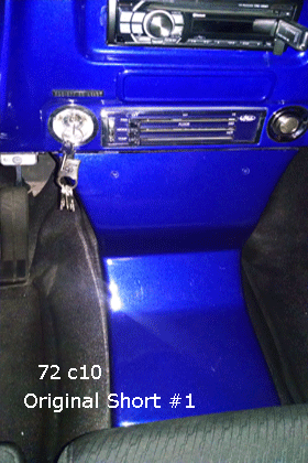 72 chevy c10 bench seat console