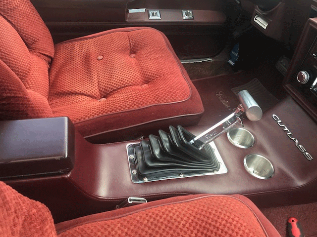 GT sport console, gbody general motors 1978-1986, g body