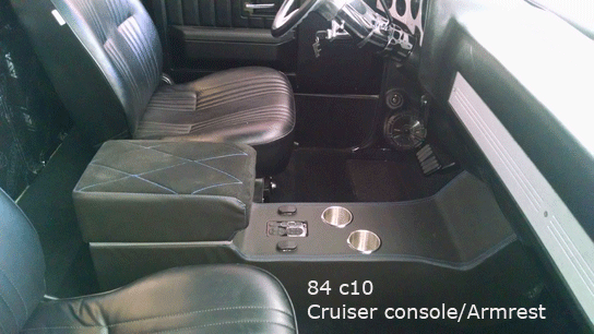 84 chevy c10 center console