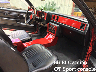 GT sport console, gbody general motors 1978-1986, g body