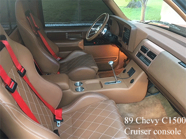 89 chevy pu center cup holder console