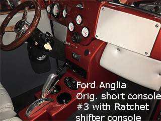 Ford anglia center console
