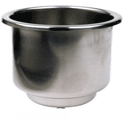 dual stainless steel drink holder